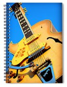 Sun Studio Guitar Spiral Notebook