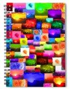 Sun Stuff - Collage Spiral Notebook