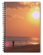 Sun Surf And Sea Spiral Notebook