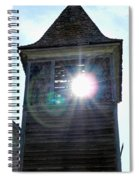 Sun Through The Steeple-by Cathy Anderson Spiral Notebook