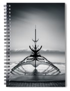 Sun Voyager Spiral Notebook