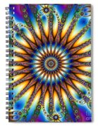 Sun Wheel 2 Spiral Notebook