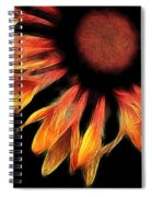 Sun Worshipper Spiral Notebook