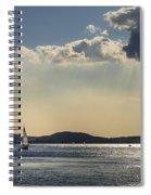 Sunbath Spiral Notebook
