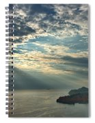 Sunbeams On Dubrovnik Spiral Notebook
