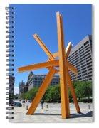 Sunburst Full Spiral Notebook