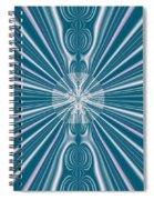 Sunburst In The Rain Spiral Notebook