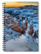 Sunburst Over The Hoodoos Spiral Notebook