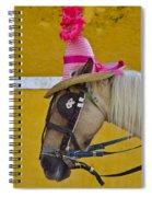 Sunday Bonnet  Spiral Notebook