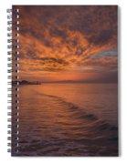 Sunday Daybreak Spiral Notebook