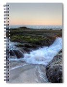 Sunday Evening Spiral Notebook