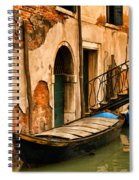 Sunday In Venice Spiral Notebook