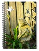Sunday Morning Angel Spiral Notebook