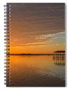 Sunday Morning Glow Spiral Notebook