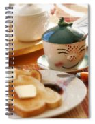Sunday Morning Jelly Jar Spiral Notebook