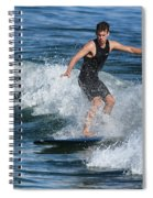 Sunday Morning Surfing Spiral Notebook