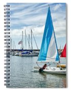 Sunday Sailing 2 Spiral Notebook