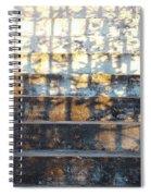 Sunday Shadows Spiral Notebook