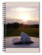 Sunday Sunrise Bible Study Spiral Notebook