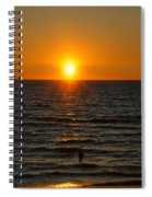 Sundown Admiration Spiral Notebook