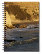 Sundown At Dinosaur Caves Spiral Notebook