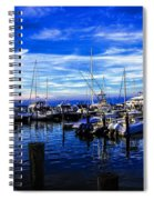 Sundown In Sag Harbor Spiral Notebook