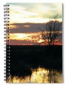 Sundown Lacassine Nwr Spiral Notebook