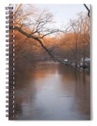 Sundown On The Breeches Spiral Notebook
