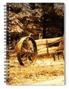 Sundown On The Honey Dew Wagon Spiral Notebook