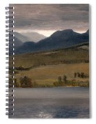 Sundown On The Lake.thought To Be Lake Tahoe Spiral Notebook