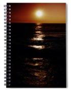 Sundown Reflections On Lake Michigan 02 Spiral Notebook