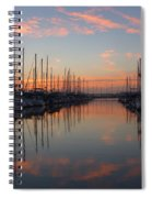 Sundown Serenade  Spiral Notebook