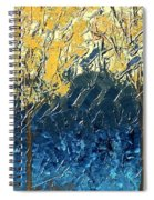 Sundrenched Trees Spiral Notebook