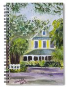 Sundy House In Delray Beach Spiral Notebook
