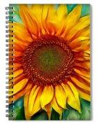 Sunflower - Paint Edition Spiral Notebook