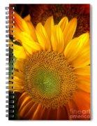 Sunflower Bright Spiral Notebook