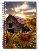 Sunflower Dance Spiral Notebook