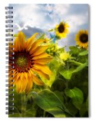 Sunflower Dream Spiral Notebook