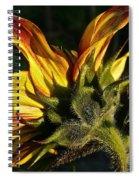 Sunflower Profile Spiral Notebook