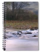 Sunflower River Spiral Notebook