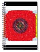 Sunflower Trio - Triptych - Flowers Spiral Notebook