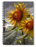 Sunflower Watch Spiral Notebook