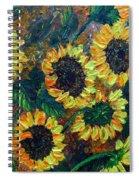 Sunflowers 2 Spiral Notebook