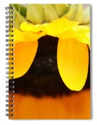 Sunflowers 3 Spiral Notebook