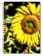 Sunflowers Digitally Spiral Notebook