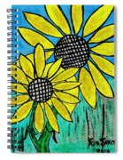 Sunflowers For Fun Spiral Notebook