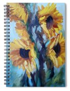 Sunflowers II Spiral Notebook