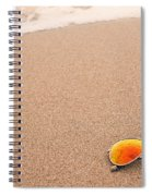 Sunglasses On The Beach Spiral Notebook
