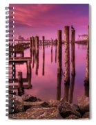 Sunk In Twilight Spiral Notebook