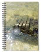 Sunken Glory Spiral Notebook
